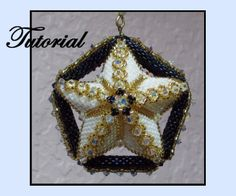 Beaded Midnight Star Pattern at Sova Enterprises