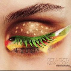 Hamburger eye!