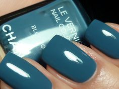 Chanel Blue Bloy