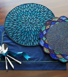 Pier 1 Placemats have special details to make your get-togethers memorable