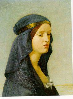 Joanna Boyce, Elgiva, 1855