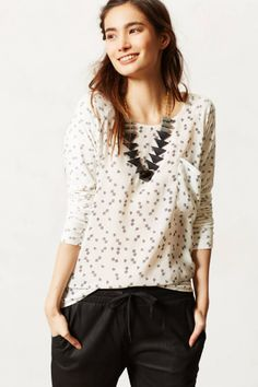 Pretty geometric print top