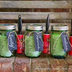 College Survival Kit in a Mason Jar!