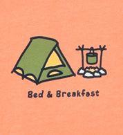 camper, beds, glamour camping, breakfast, northwest camp