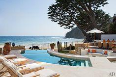A Rustic Laguna Beach Retreat : Interiors + Inspiration : Architectural Digest