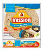 Mission Carb Balance Small/Fajita Whole Wheat Tortillas. Count as a 5x5 and use to make a delicious wrap!