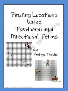 Locations Using Positional and Directional Terms Beautiful Story regarding this freebie.  The teacher who created it recently passed away and in her will asked that all her materials on this site be made free.  -  Pinned by @PediaStaff – Please Visit ht.ly/63sNt for all our pediatric therapy pins