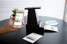Turn Any iPhone Photo into a Polaroid with the Impossible Instant Lab polaroid iPhone device cameras iphon pic, imposs instant, business design, instant lab