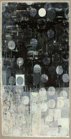 Keiko Hara, Verse S.  #art #painting #abstract #black_and_white #keiko_hara