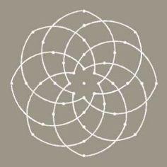 Fig.1 Idaya Kamalam Kolam Pattern. patterns, kolam rangoli, ancient india, kolam pattern