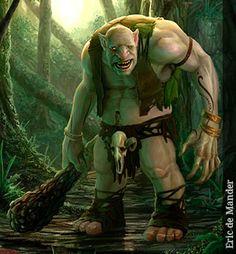 Ogro - Seres Mitológicos y Fantásticos