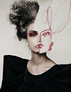 Face Project II  ARTIST: Michelangelo di Battista & Tina Berning
