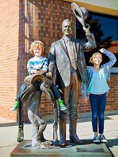 Worth the Trip: Family Vacation Ideas: Presidents on Parade (via FamilyFun Magazine)