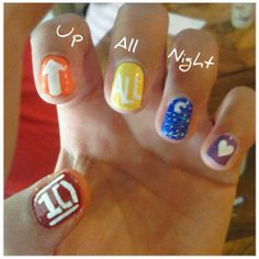 nail designs of one direction | Reader Nail Art! | BOP and Tiger Beat Online