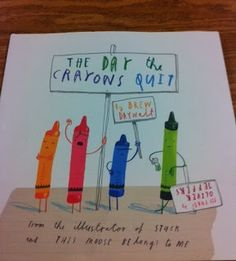 Fun writing prompt - write from your crayon's point of view!