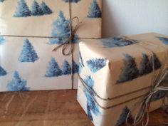 VIntage 50's  60's Wrapping Paper Christmas/Special by bfyvintage, $4.00
