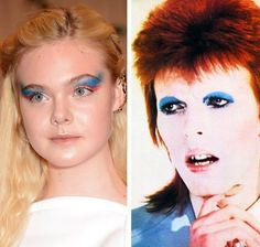 What do you all think of Elle Fanning's imitation of David Bowie?