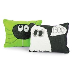 Halloween fun spooky pillows