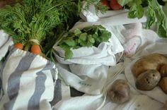 DIY Farmers' Market Bags #diy #spring