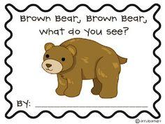 Brown bear, brown bear book (free!!)