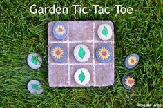 Thrive 360 Living: Garden Tic-Tac-Toe