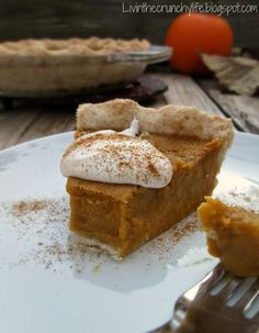 AIP Pumpkin Pie: Bak