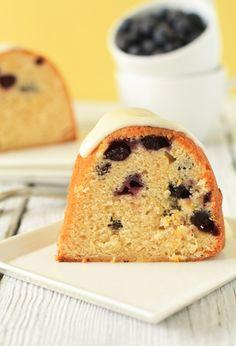 Blueberry Lemon Bundt Cake.