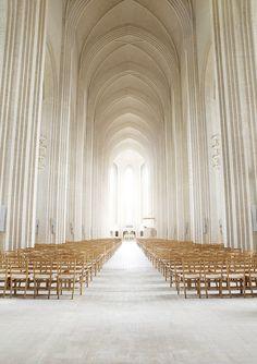 Grundtvig's Church in Copenhagen, Denmark, by Johan Rosenmunthe