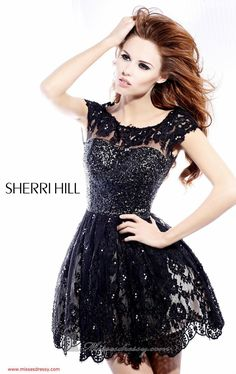 48 Sherri Hill Prom Dresses 2013. Very cute. Reminds me of the black swan