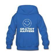 Sweatshirts ~ Kids' Hooded Sweatshirt ~ Gratiot Happens