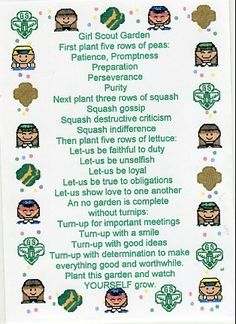 Girl Scout Daisy Investiture Script | just b.CAUSE