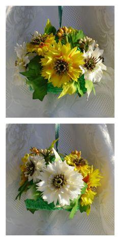 campane di lana con fiori