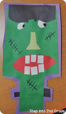 Frankenstein craft - from Amy Lemons