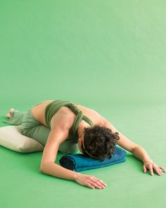 melt stress with one yoga pose a day