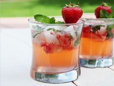 DRINK: Strawberry Mango Mojito Recipe | stupidDOPE.com
