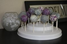 Popztee Cake Pop Stand at a party