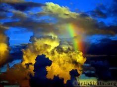 Assume Nothing by Ibrahim Iujaz sky, new start, firework, color, rainbow art, cobalt blue, blue skies, storm clouds, natural beauty