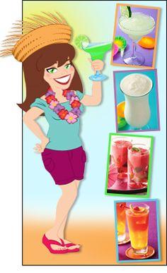 Low-Calorie Cocktails,