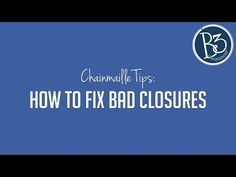 How to Fix Jump Rings with Bad Closures (chainmaille jewelry tips) - YouTube
