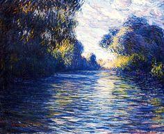 Claude Monet. Morning on the Seine (1897).