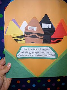 crayon box and colors!