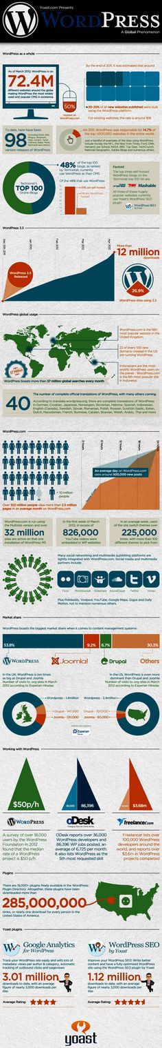 Essential About WordPress (1) #Infographics