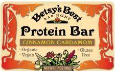 Cinnamon Cardamom Protein Bar - Betsy's Best Bar None, Portland OR