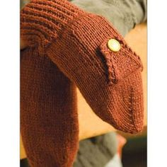 Ladies' Subway Mittens Knitting Pattern from Interweave. $3.50