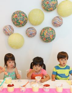 Cute tips from Oh Joy on throwing a mini ice cream social