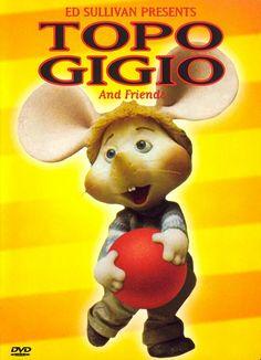 Topo Gigio, the wild Italian mouse...Ed Sullivan