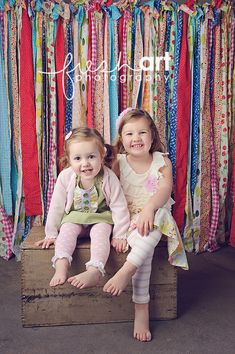 Fabric Photo Booth Backdrop