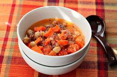 Indian Quinoa Chickpea Stew #quinoa #vegan #healthyrecipes #chickpeas