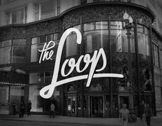 letter, chicago loop, chicago neighborhood, art, brand, type, chicago design, neighborhood logo, typographi