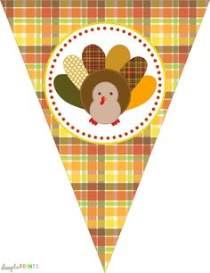 Thanksgiving Turkey Party by Dimple Prints